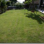 芝生を張ろう(11) 今年二度目の芝刈り