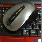 マイクロソフトワイヤレスモバイルマウス3500を買いました