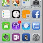 iOS7にアップデートしました