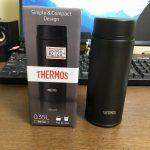 THERMOSの真空断熱ケータイマグを買いました
