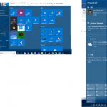 Windows 10のスタートメニュー、タスクバー、アクションセンターを透明にする方法