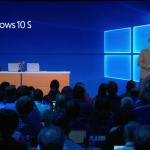Windows 10 S発表