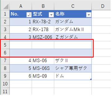 [Excel] テーブルを使ってかっこよくて便利な表を作る | 闘う ...