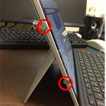Surface Proのマグネットはどこにある?